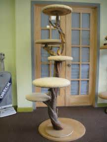 crafted one of a cat tree