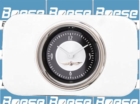 37 38 Chevy Car Clock Insert W/ Classic Instruments All
