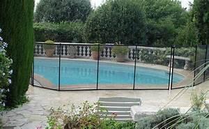 Cloture Souple Piscine : cl ture piscine filet beethoven noir poteaux noirs ~ Edinachiropracticcenter.com Idées de Décoration