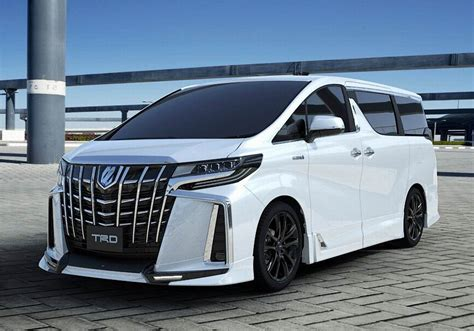 Toyota Alphard 4k Wallpapers by Updated Toyota Alphard And Vellfire Got A Kit From