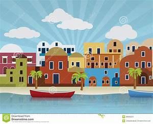 Häuser Im Orient : orientalische stadtabbildung vektor abbildung bild 28595224 ~ Lizthompson.info Haus und Dekorationen