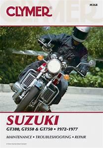 Suzuki Gt380  550  750 Motorcycle  1972