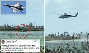 US Navy F-18 fighter jet crashes into the water near Key ...