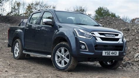 isuzu  max updated  uk  euro  turbodiesel