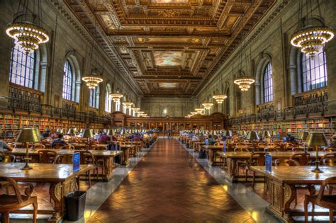 New York Public Library - Public Building in New York City