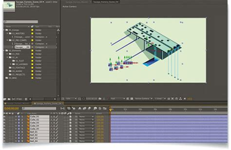 Create A 3d Isometric Effect In After Effects