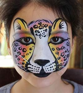 Rainbow leopard | Face Painting | Pinterest | Leopards and ...