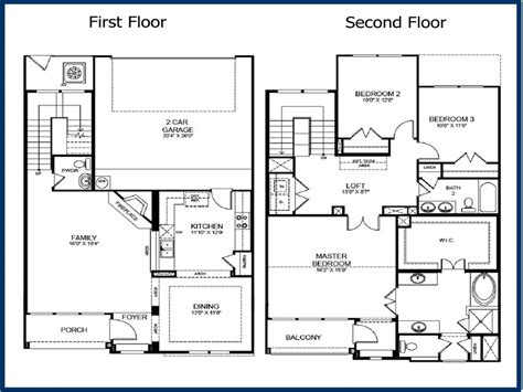 story  bedroom floor plans  story master bedroom