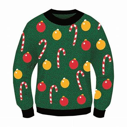 Ugly Sweater Christmas Adult Crop Funnygoofycrap Ornaments