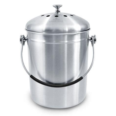countertop compost bin compost bin for kitchen countertop odor suppressing pail