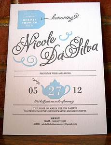 nicole39s surprise bridal shower invitation thomas printers With surprise wedding shower invitations