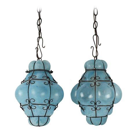 vintage light pendants 15 ideas of turquoise blue glass pendant lights 3239