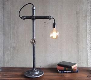 Lampe Industrial Style : industrial style work light by peared creation gadget flow ~ Markanthonyermac.com Haus und Dekorationen