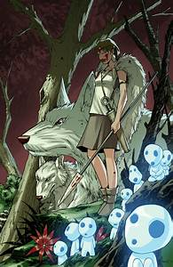 The Geeky Nerfherder: Movie Poster Art: Princess Mononoke ...
