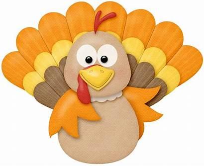 Thanksgiving Turkey Harvest Happy Cartoon Autumn Clipart