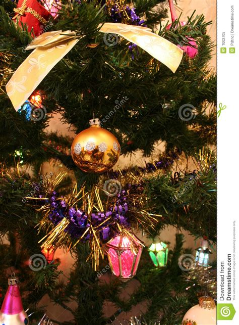 christmas tree decorations royalty free stock photo image 1002705