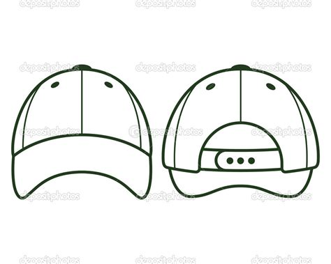baseball template 14 baseball hat template printable images baseball cap vector template baseball hat clip
