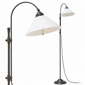Stehlampe Mit Glasschirm : jugendstil stehleuchte am bogenarm casa lumi ~ Markanthonyermac.com Haus und Dekorationen