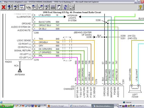 2004 Mustang Mach 1 Wiring Diagram by Mach 460 Stereo Illumination Mustang Forums At Stangnet