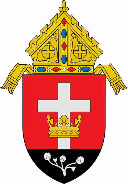 Diocese Catholic Lubbock Roman Svg Coa Wikimedia