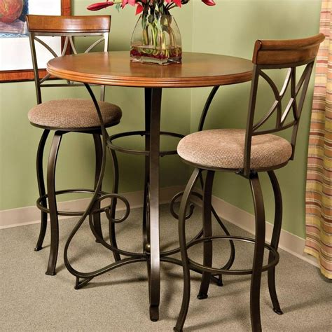 Kitchen Table Bar Height by Bistro Pub Table Matte Pewter Bronze Furniture Bar