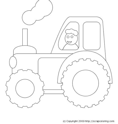 tractor template to print 108 best farm embroidery images on drawings coloring and coloring sheets