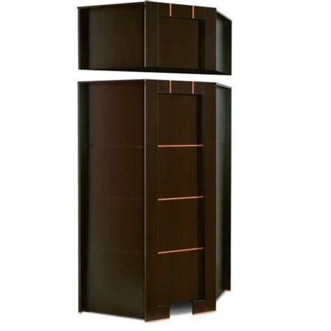 bureau d angle avec surmeuble armoire dressing d angle 1 porte moderne wenge avec