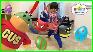 Easter Egg Hunts for Kids with Ryan ToysReview and Gus for ...