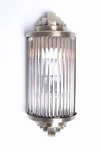 Art Deco Stil : art deco glasst bchen wandleuchte bauhaus lampe wandlampe antik stil metall neu ebay ~ A.2002-acura-tl-radio.info Haus und Dekorationen