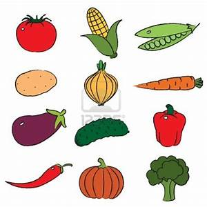 Vegetables Clipart Black And White Border | Clipart Panda ...