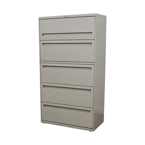 white lateral file cabinet 80 off hon hon white five drawer lateral file cabinet