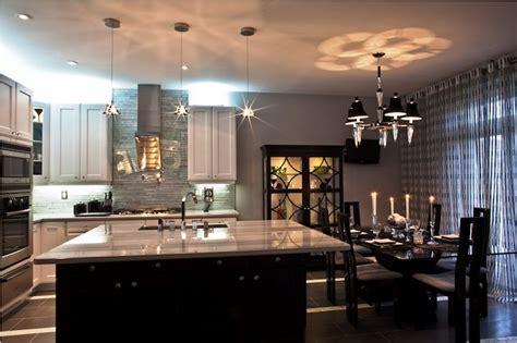 Striped Granite Countertops   Contemporary   kitchen