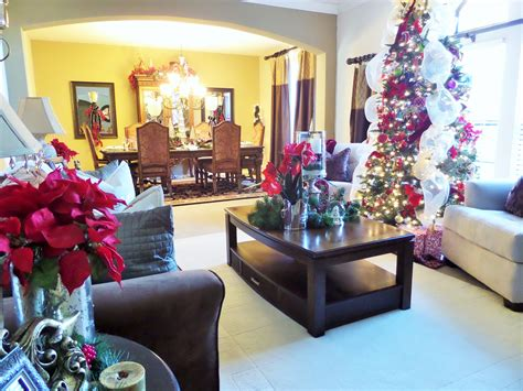 Christmas Living Room  Be My Guest With Denise