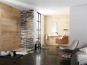salle de bain travertin la beaute de la pierre de tivoli With salle de bain design avec grossiste en objet de décoration
