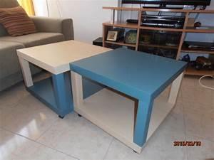 Ikea Table Basse : relooking d 39 une table basse lack bidouilles ikea ~ Teatrodelosmanantiales.com Idées de Décoration