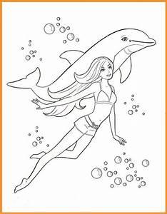 Ausmalbilder Barbie Delphin Zum Ausdrucken Kostenlos