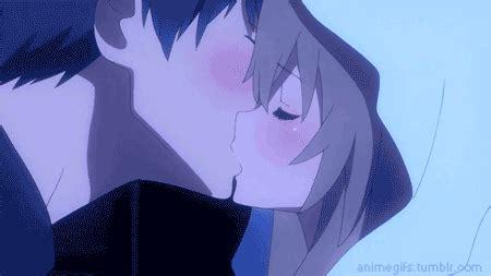 Anime Kiss Gif Cute Cute Anime Kissing Gifs Anime Amino
