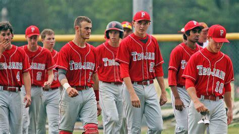 parkland high baseball team falls  wyoming valley west