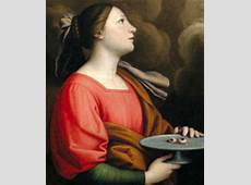 Memorial of St Lucy, virgin and martyr December 13