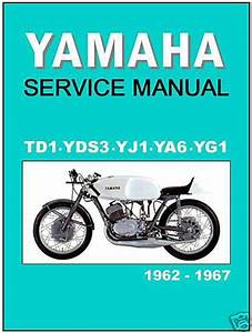 Find Yamaha Workshop Racing Manual Td1 Td1a Td1b Yg1 Yj1 Yds3 Ya6 1966 1967 Tuning Motorcycle In