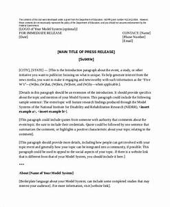 press release template 20 free word pdf document With templates for press releases