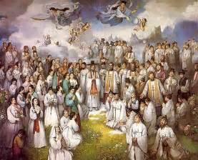 Resultado de imagen de dios y los santos