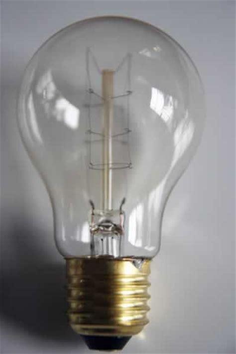 clear decorative vintage style 60w light bulb ba22d