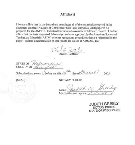 letter of affidavit marriage affidavit template www pixshark images