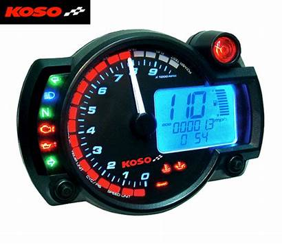 Motorcycle Digital Koso Rx2n Dashboard Clock Gauges
