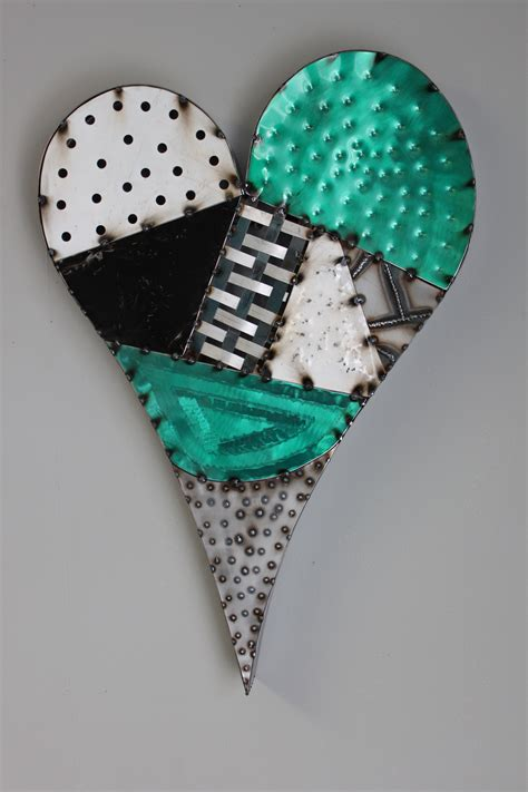 This item comes shipped in one carton. Cannonball Metal Works   (530) 722-5454   Metal Heart Wall Art