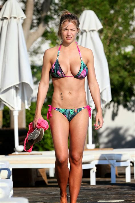 spain actress kiss gemma atkinson looking stunning in a bikini in spain pics