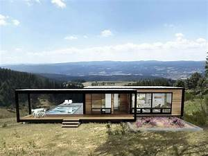 Ideas : Chic Green Prefab Homes Modern Green Prefab Homes ...