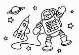 Coloring Astronaut Popular sketch template