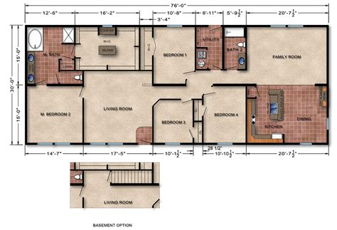 builders floor plans floor plan manufactured homes changed modular homes